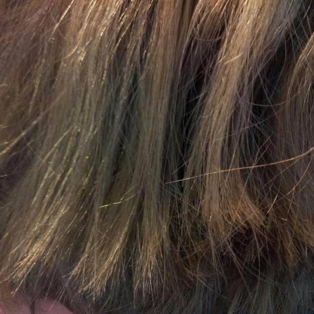 Nyfärgat hår