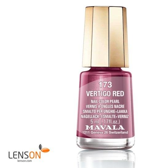 Mavala Nail Polish Vertigo Red, nagellack