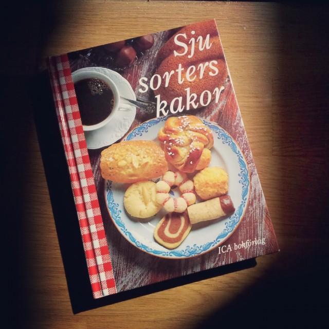 Bakade drömmar ur min version av Sju sorters kakor från 1994, snart 20 år gammal!
