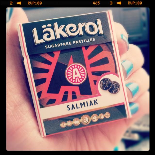 Läkerol Salmiak är så förbaskat goda!