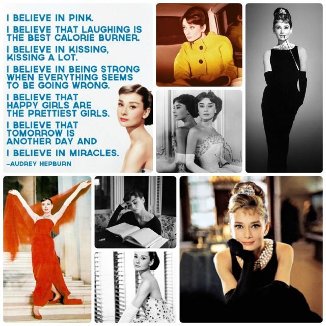 Audrey Hepburn ,en stilikon