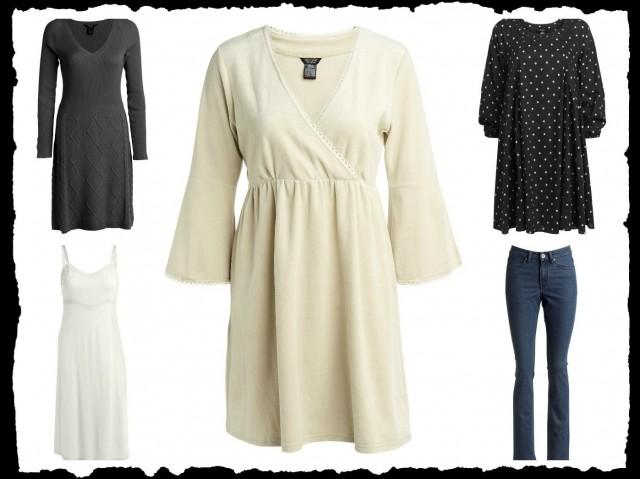 Utvalda favoriter från ellos Fresh Spirit kollektion, klänning, underklänning, tunika, prickig klänning och jeans