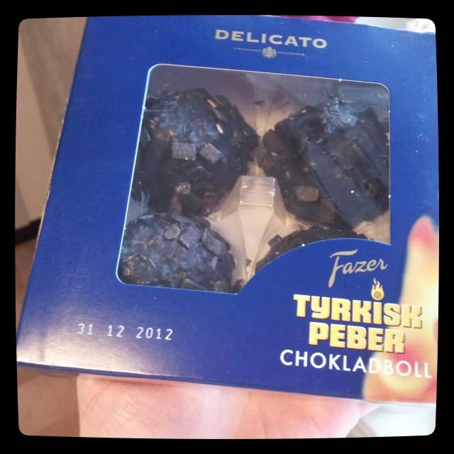 Fazer Tyrkisk peber chokladboll