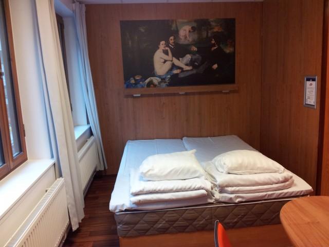 Sovhörna för två på Omenahotels, Stockholm