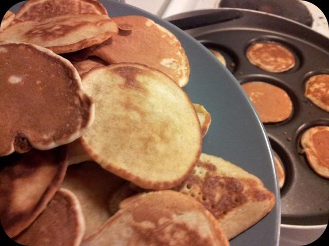 Amerikanska pannkakor till söndagsmiddag