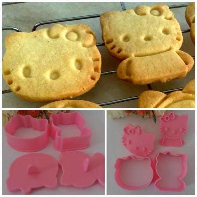 Kakformar för Hello Kitty kakor