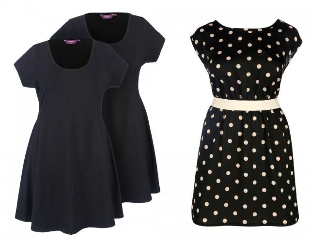 NewLook frosseri, fina klänningar i olika modeller för kurvigare kroppar