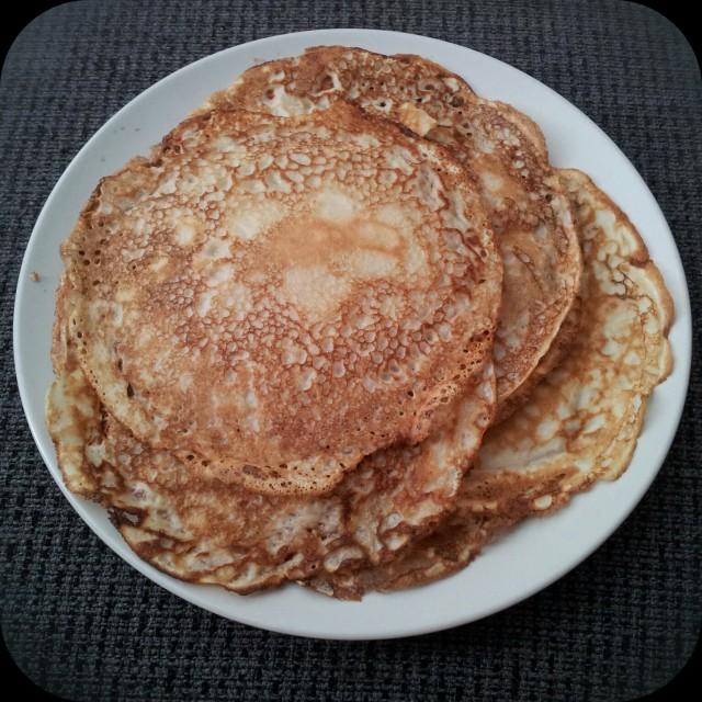 Söndags lyxfrukost - klassiska pannkakor
