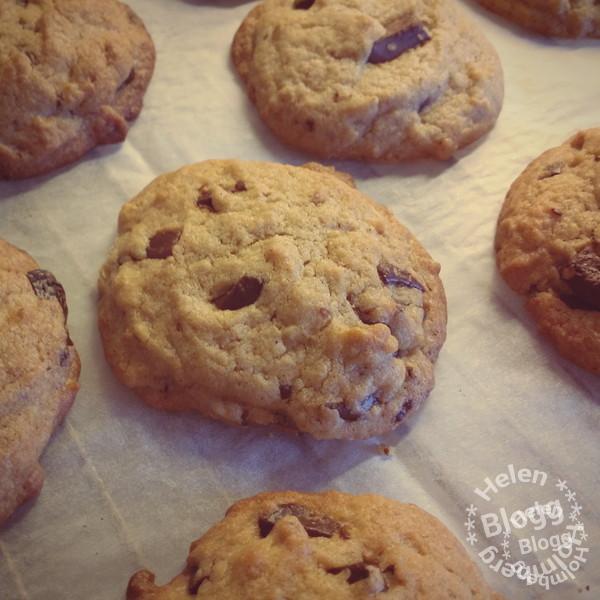 Chocolate chip cookies från tv-serien Vänner