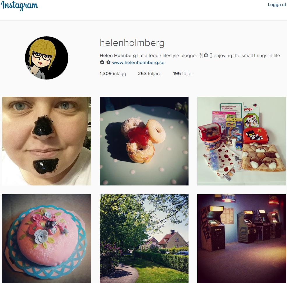 Följ gärna mig på Instagram