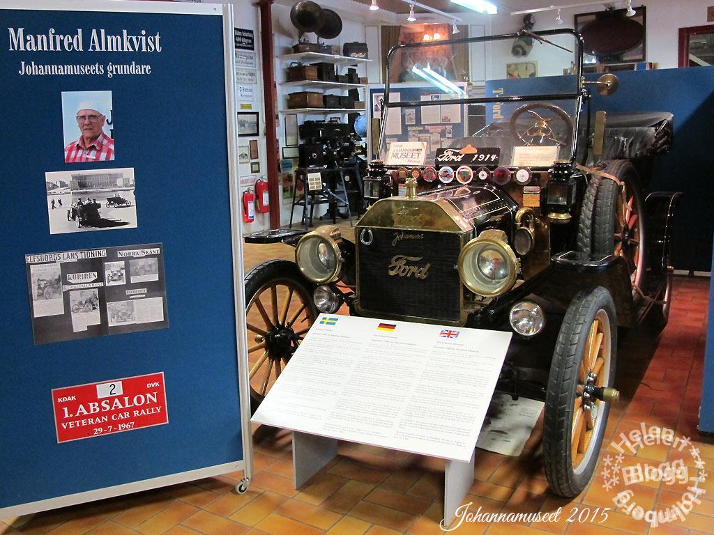 På besök på Johannamuseet i Skurup