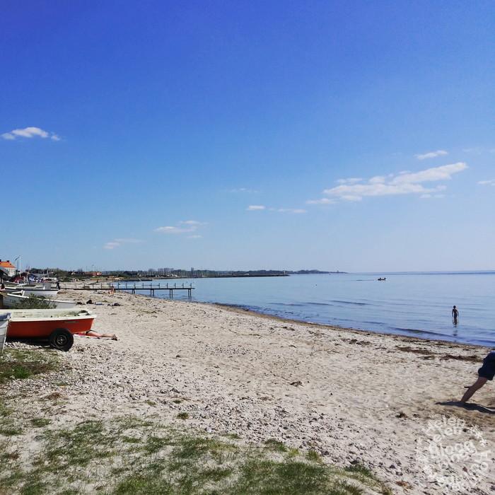 Söndag på stranden