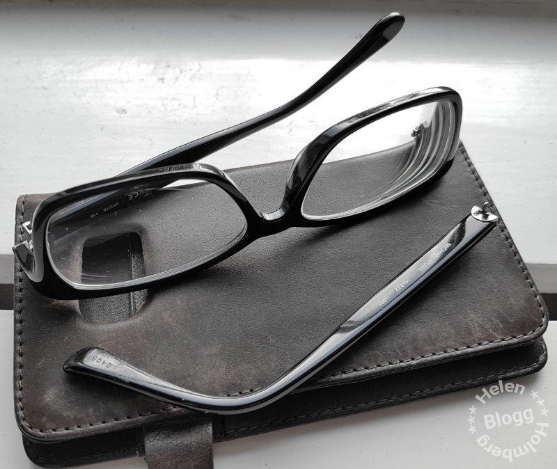 Sjukstuga och trasiga glasögon