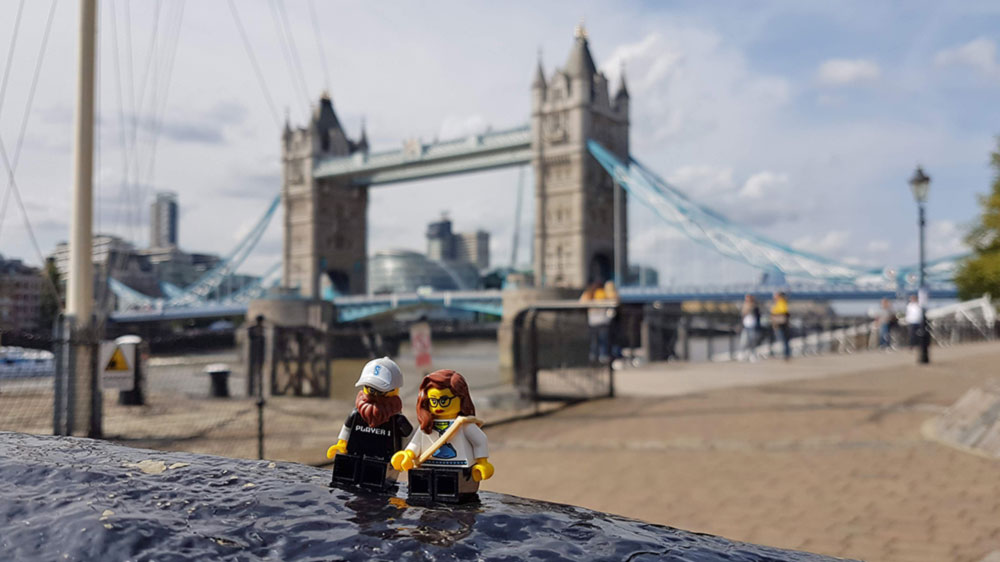 Helen J Holmberg turistar i London