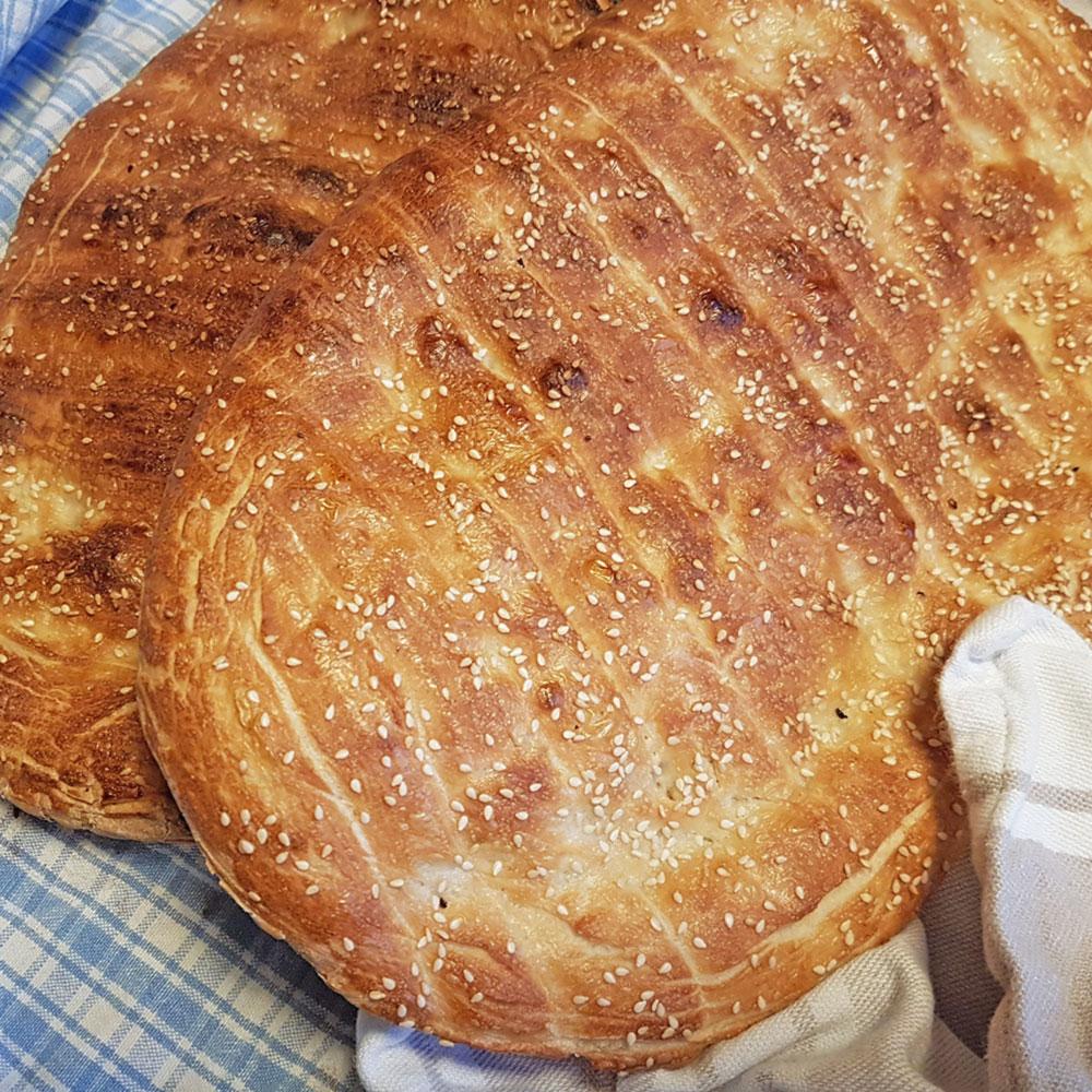 Helen J Holmberg - recept på Persiskt bröd Barbari